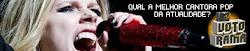 [Vote] Avril Lavigne Melhor Cantora Pop Da Atualidade ?