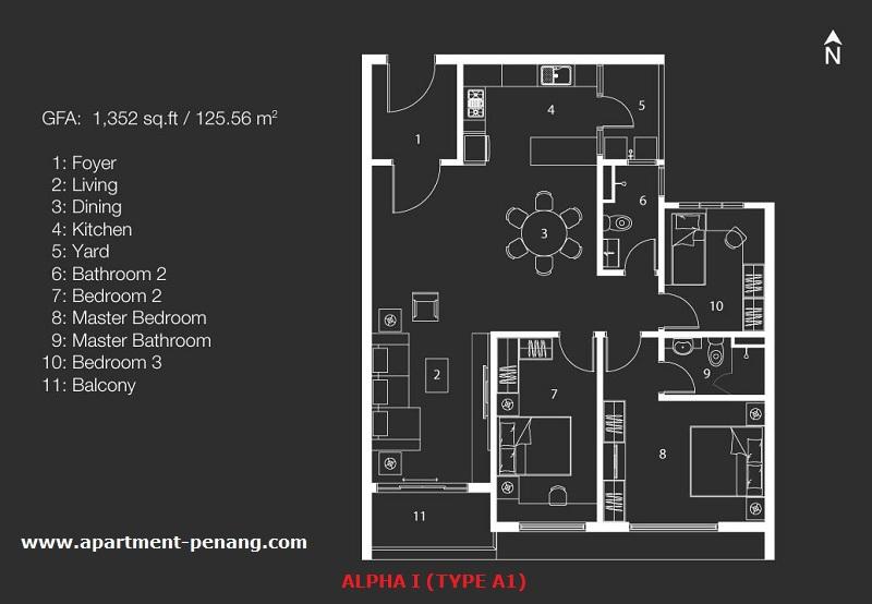 Mira Residence Apartment Penang Com