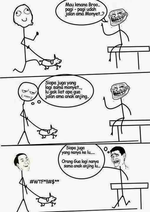 komik-komik lucu hasil karya anak indonesia