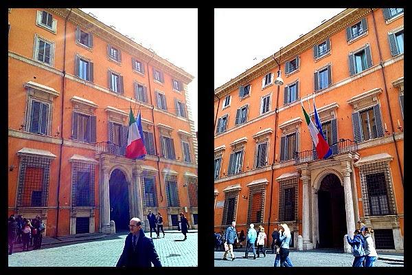 Palazzo Giustiniani w Rzymie