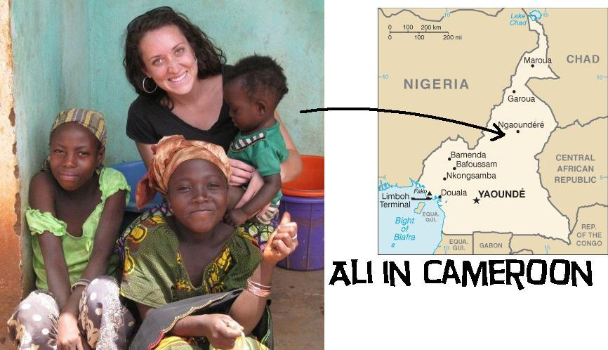 Ali in Africa; a peace corps adventure