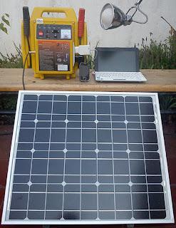 kit solar portatil