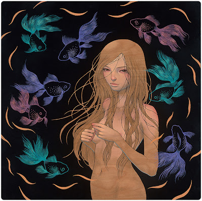 "San Diego Comic-Con 2013 Exclusive ""Keeper"" Print by Audrey Kawasaki"