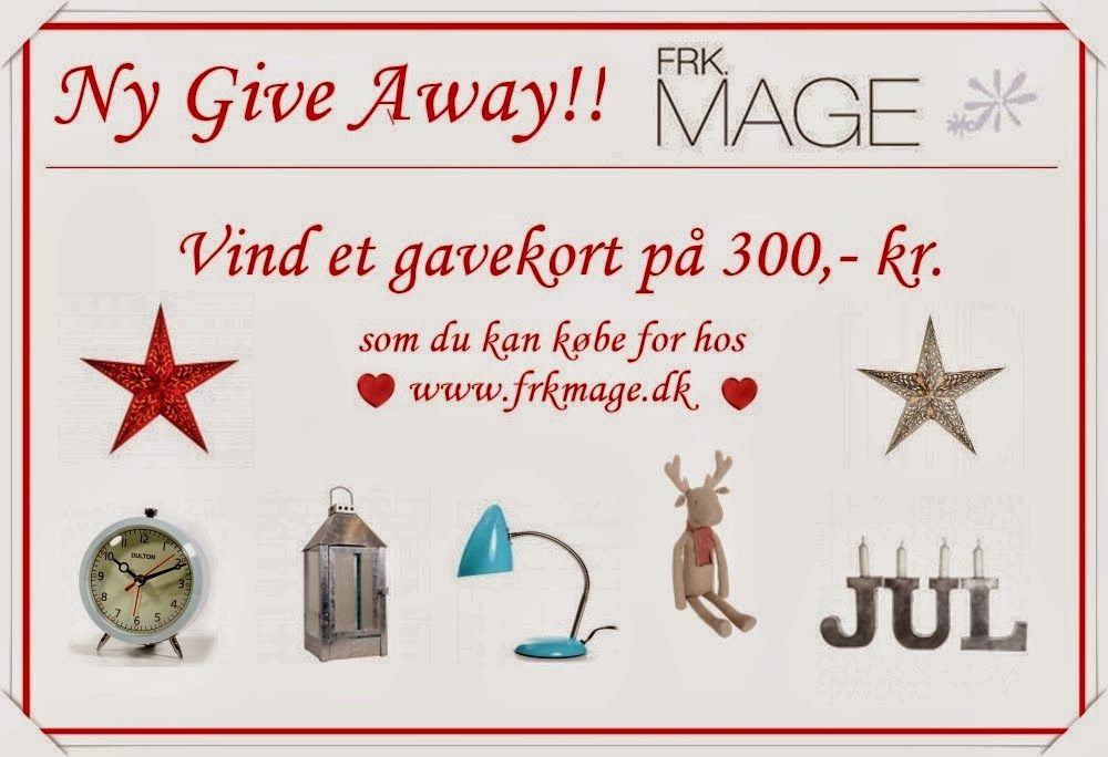 Give Away fra Frk.Mage