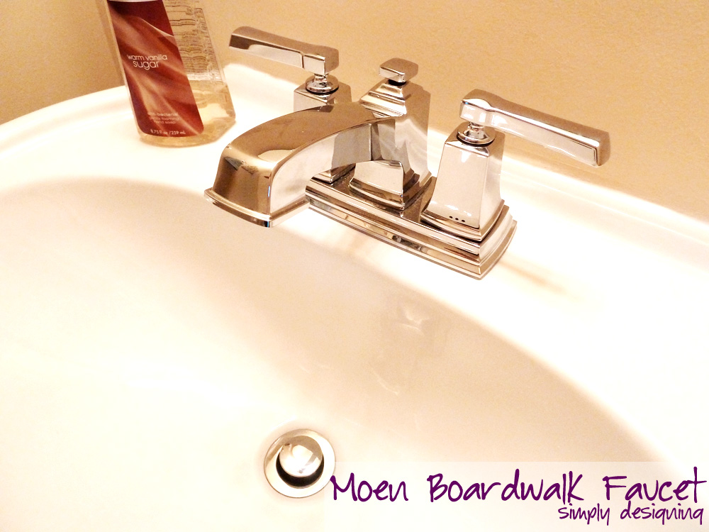 Ideal How to Install a Moen Boardwalk Faucet moenDIYer diy bathroom