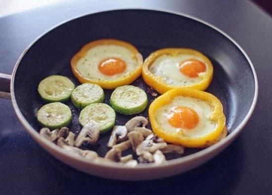 Вкусный завтрак на скорую руку с