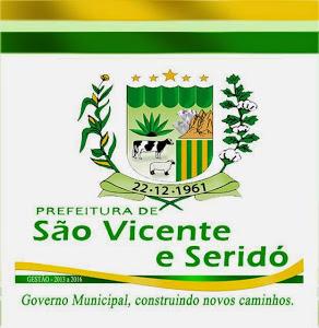PREFEITURA DE SÃO VICENTE VICENTE DO SERIDÓ