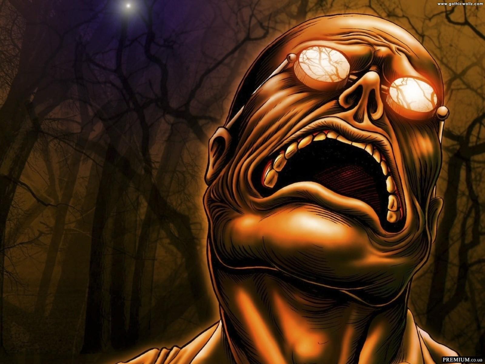 Scary Nightmare Dark Wallpaper | Dark Gothic Wallpaper Download