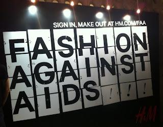 H&M Fashion Against AIDS 2012