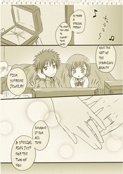 To Aru Majutsu no Index - Kamijou & Mikoto are a little embarrassed Manga