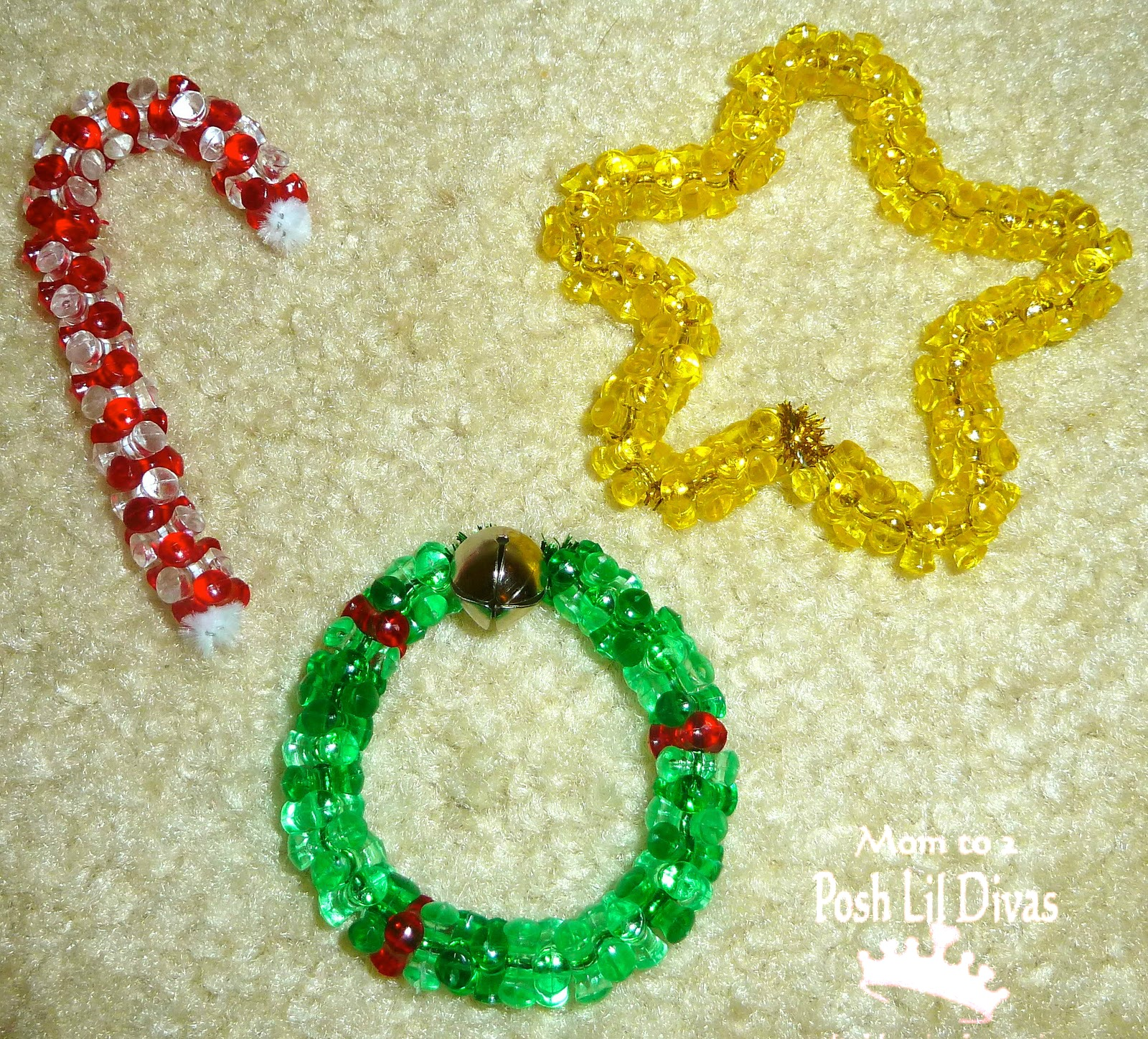 Kid Craft Beads: I May Need Another Tree