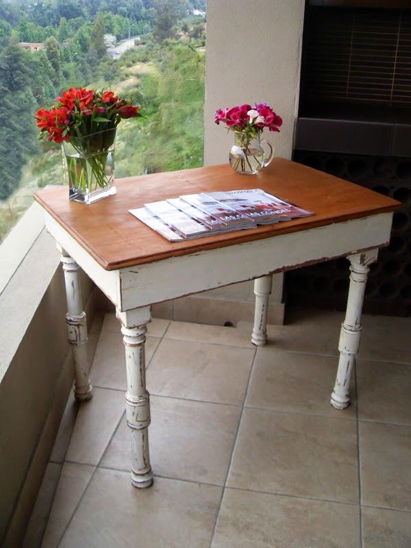 Como pintar una mesa de madera amazing mesa con decoupage for Como pintar una mesa de madera