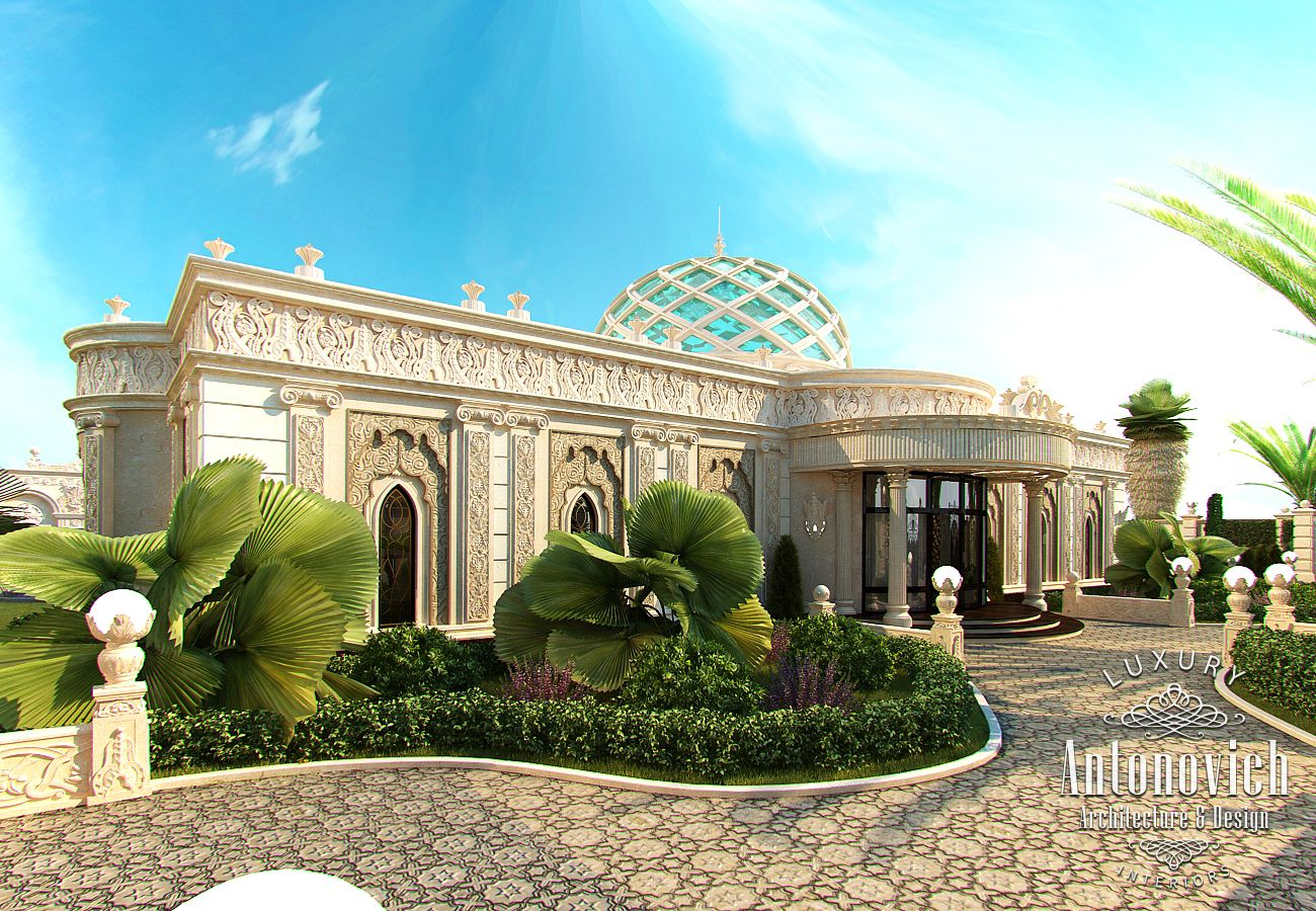 Luxury antonovich design uae the exterior design dubai from kateryna antonovich - Uae home design ...