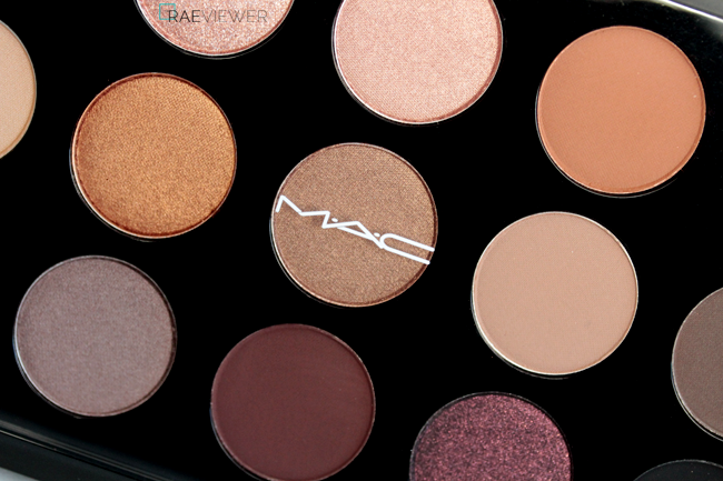The RAEviewer - A blog about luxury and high-end cosmetics: MAC Cosmetics Nordstrom Naturals 15-Pan Eyeshadow Palette Review, Photos, Swatches
