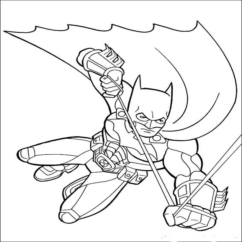 Free Coloring Pages Of Catwoman For Kids
