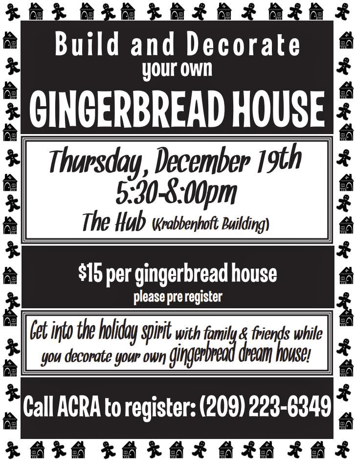 Build & Decorate Your Own Gingerbread House