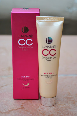 Lakme India CC cream bronze shade