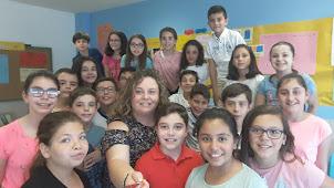 Somos la clase de 6º B del CIP José Montalvo de Horcajo de Santiago, Cuenca
