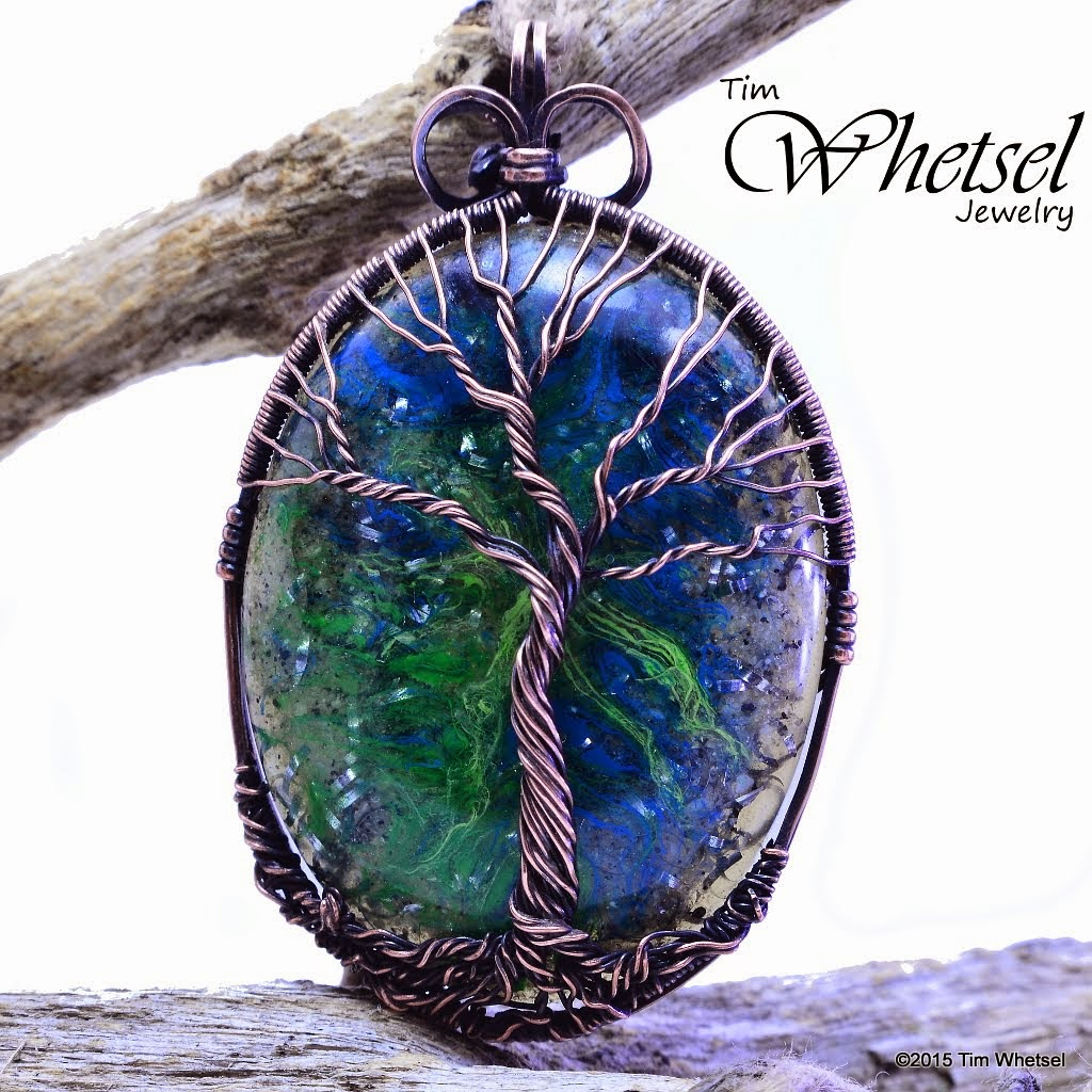 Wire Wrapped Jewelry by Tim Whetsel: Copper Tree of Life Orgonite ...