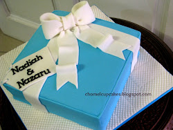 Gift Box Cake