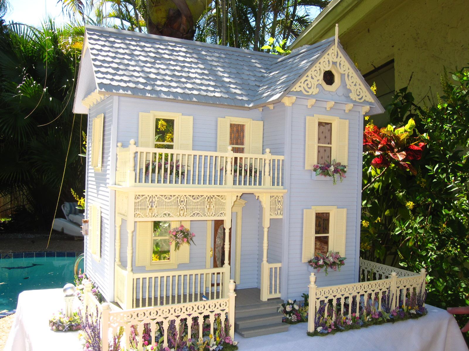Dollhouses By Robin Carey East Main Street Victorian Dollhouse