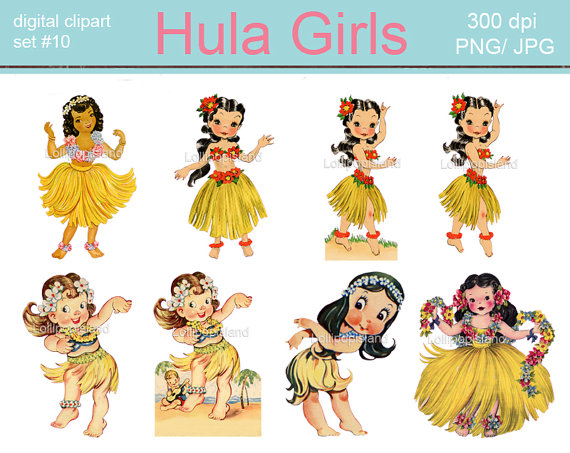 inkspired musings: Hula Party Time