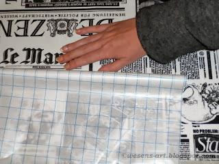 DIY water repellent fabrics 02     wesens-art.blogspot.com