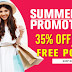 Summer Promotion 35% OFF - SheIn