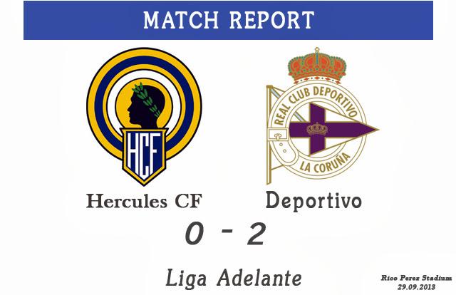 Hercules CF 0:2 Deportivo La Coruna