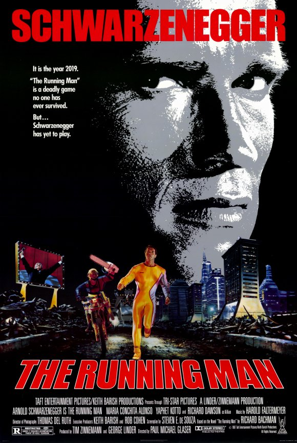 Hubbs Movie Reviews: The Running Man (1987)