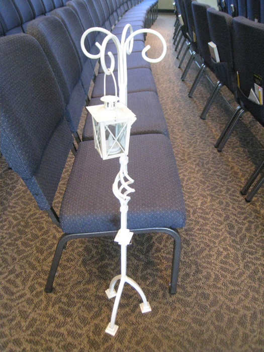 Wedding Aisle Decoration