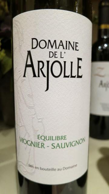 Wine Label of 2013 Domaine De L'Arjolle Equilibré Viognier-Sauvignon