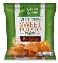 Ramblings Thoughts: Green Giant BBQ Sweet Potato Chips