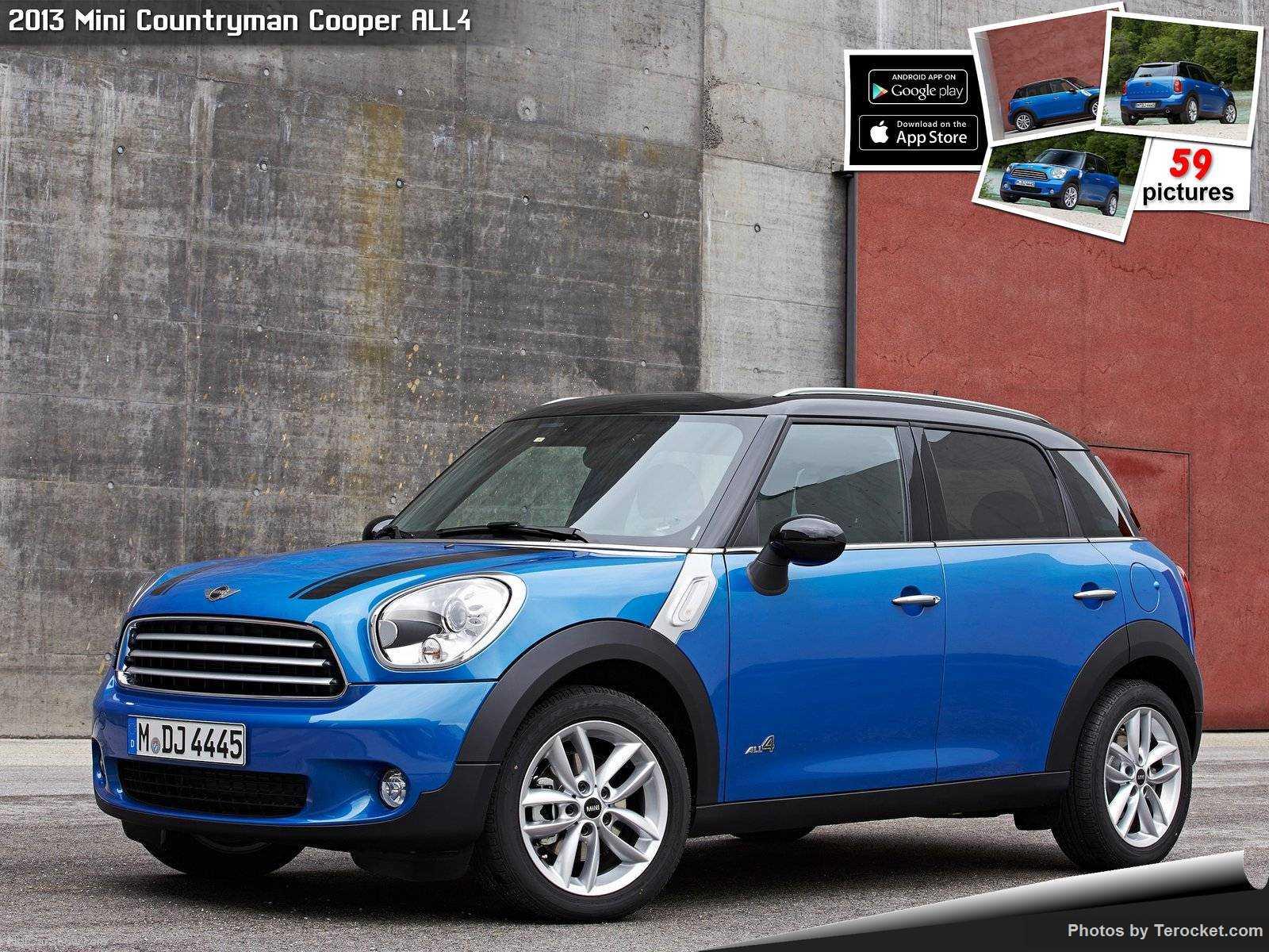 Hình ảnh xe ô tô Mini Countryman Cooper ALL4 2013 & nội ngoại thất