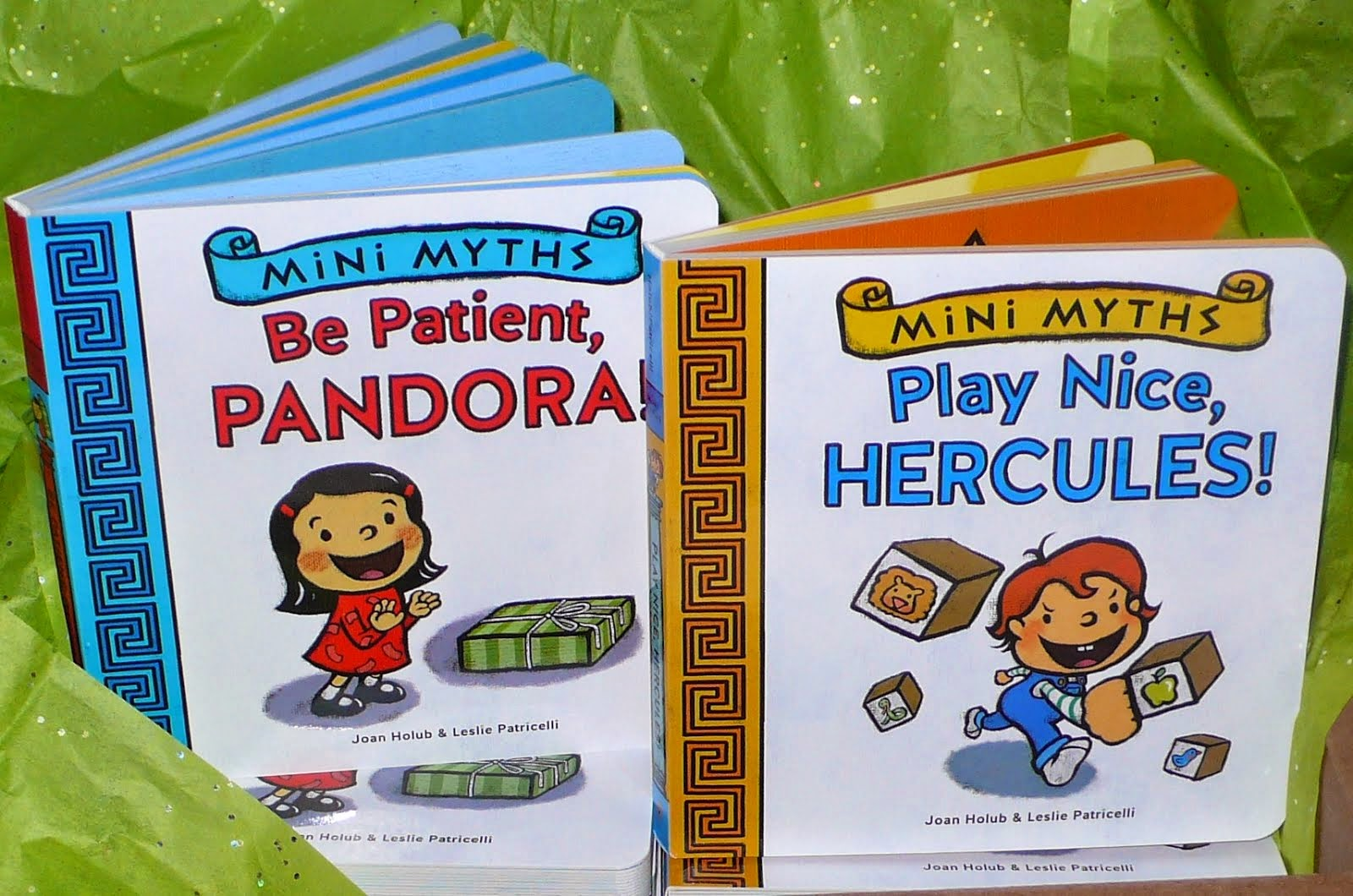 Mini Myths! board books