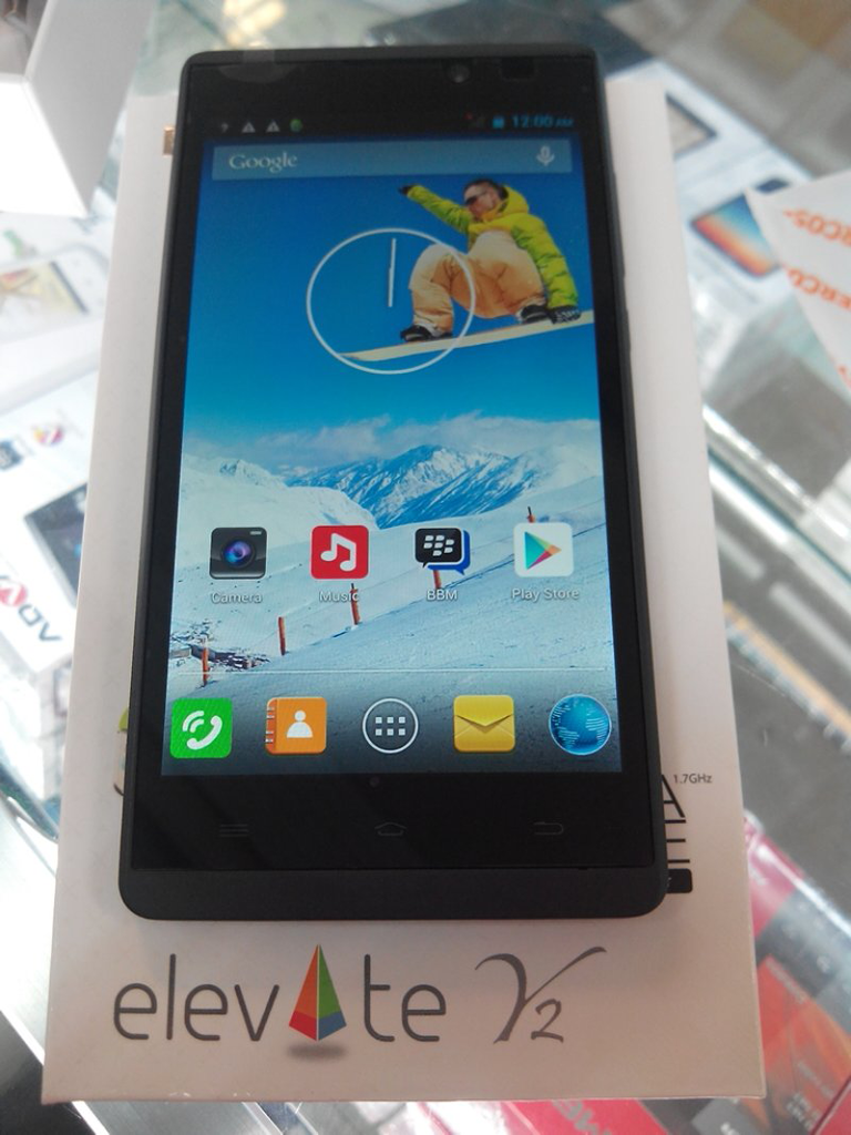 Harga Evercoss Elevate Y2 A80A