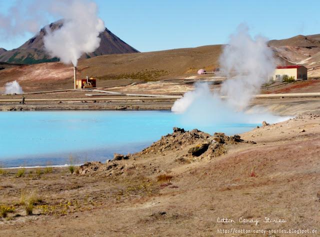 Geothermalkraftwerk Bjarnarflag in Island