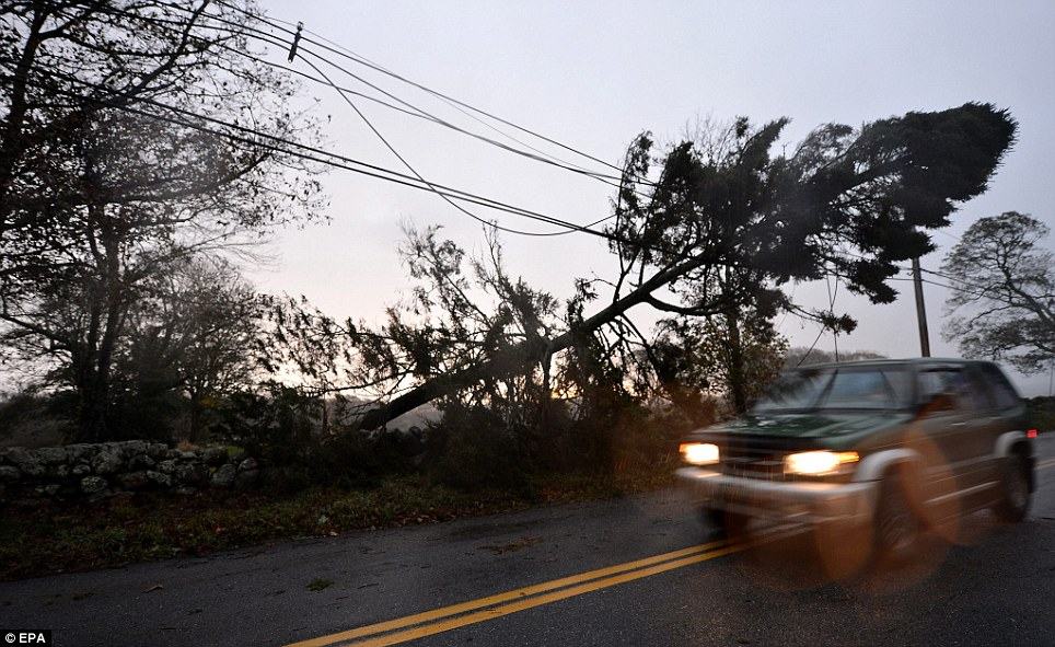 Hurricane Sandy images