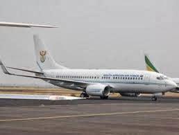 Zuma's presidential plane