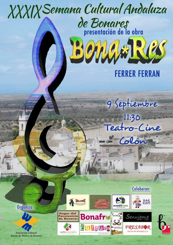 BONA-RES DE FERRER FERRAN POR A.C.BANDA DE MÚSICA DE BONARES