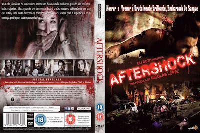 Filme Aftershock DVD Capa