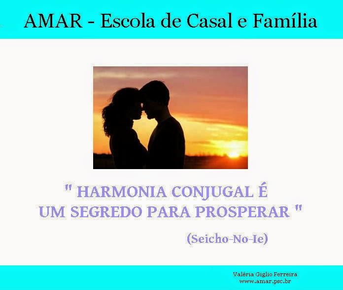 Harmonia conjugal e prosperidade