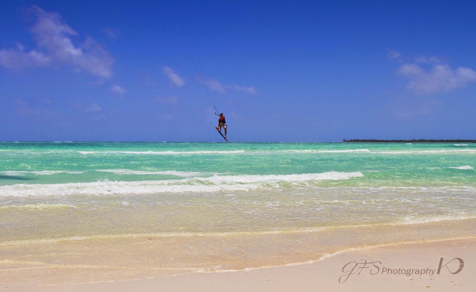 boca paila esturay sian ka'an kitesurf spot kiteboarding jump