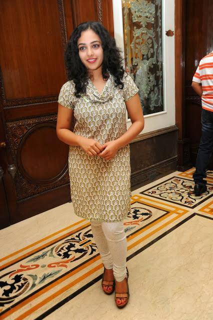 Nithya Menon Cute Smiling Face