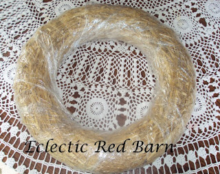 wreath made of straw