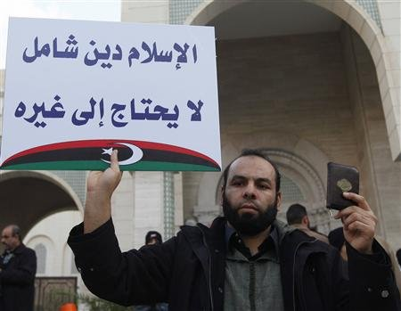 SO LONG LIBYAN REVOLUTION, ENTER SHARIA-SEEKING ISLAMISTS.
