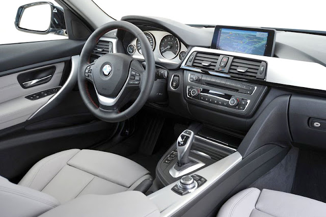 2013 BMW ActiveHybrid 3 Front Interior