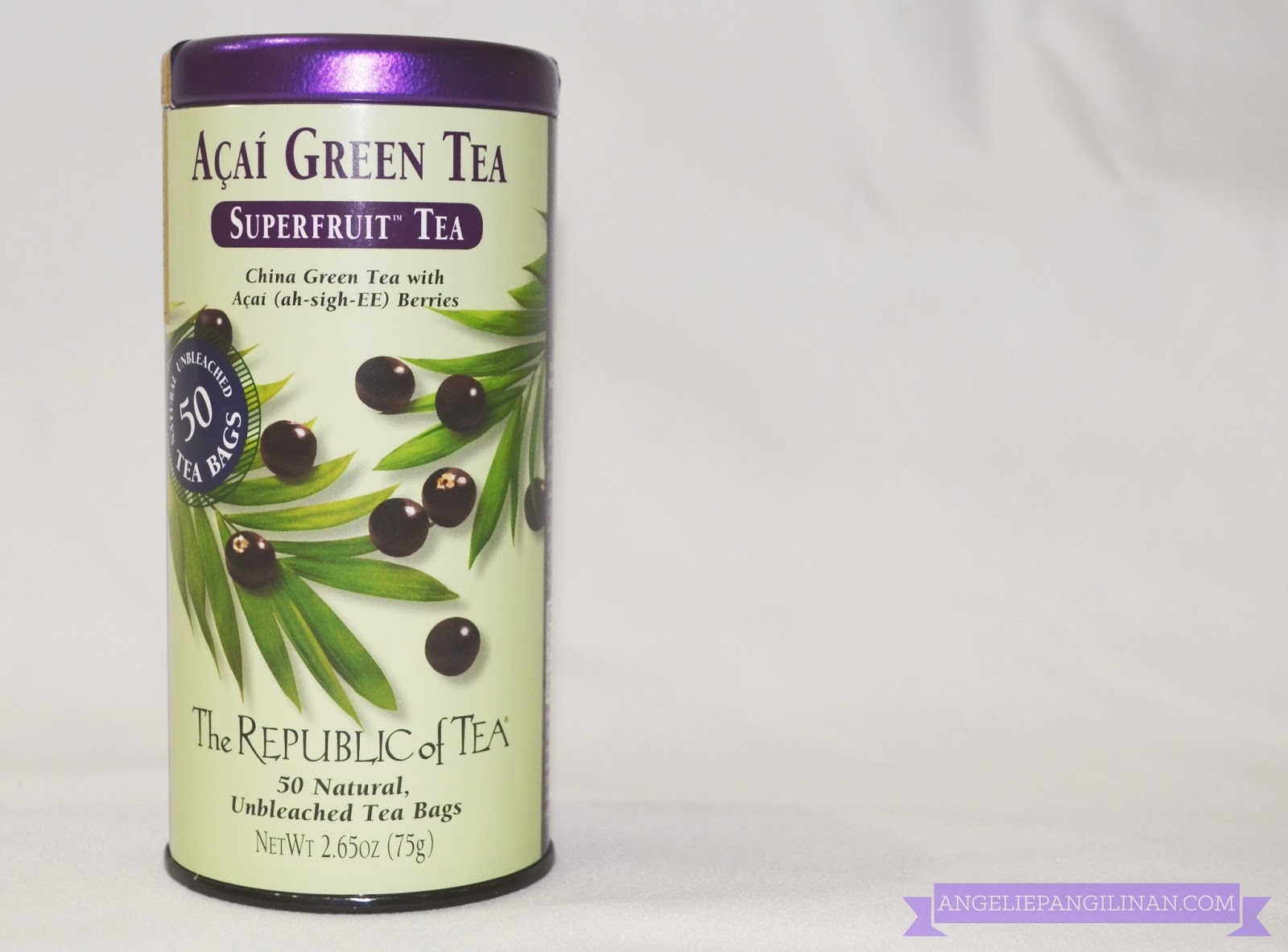 republic of tea acai green tea