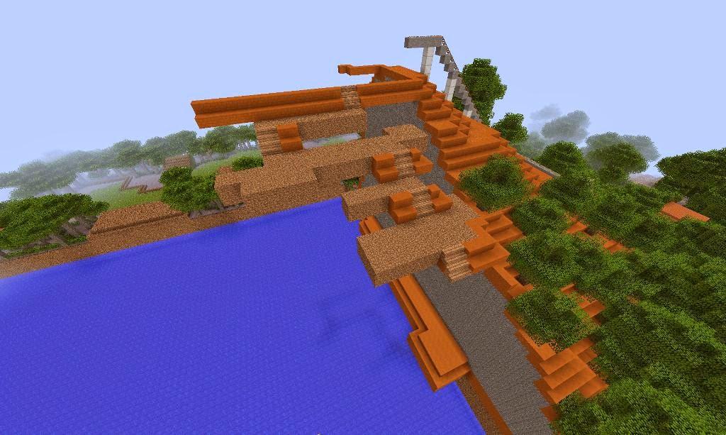 Minecart Tracks on Stairs Minecart Track Screenshot