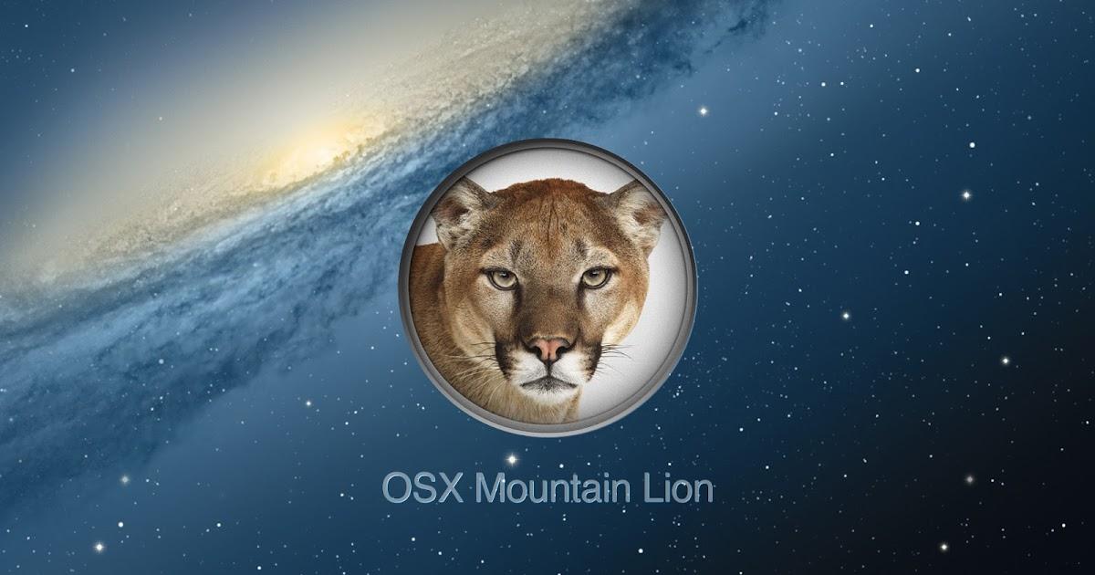 Free Download Apple Mac OS X 10.8.2 Mountain Lion Software ...